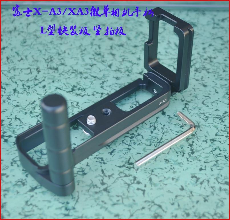 LB-XA3 Vertical Quick Release L Plate/Bracket Holder Grip holder for Fuji XA3 X-A3 RRS SUNWAYFOTO Markins Compatible