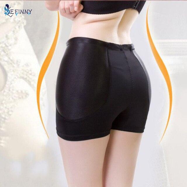 1cfca07660 EFINNY Women High Waist Padded Butt Hip Enhancer Panties Body Shaper  Underwear M-4XL