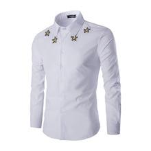 Camisa Masculina Personalidad de La Moda de Los Hombres Camisas de ropa de china Barato Para Hombre Hombre de Ocio de Gran Tamaño Camisa Masculina