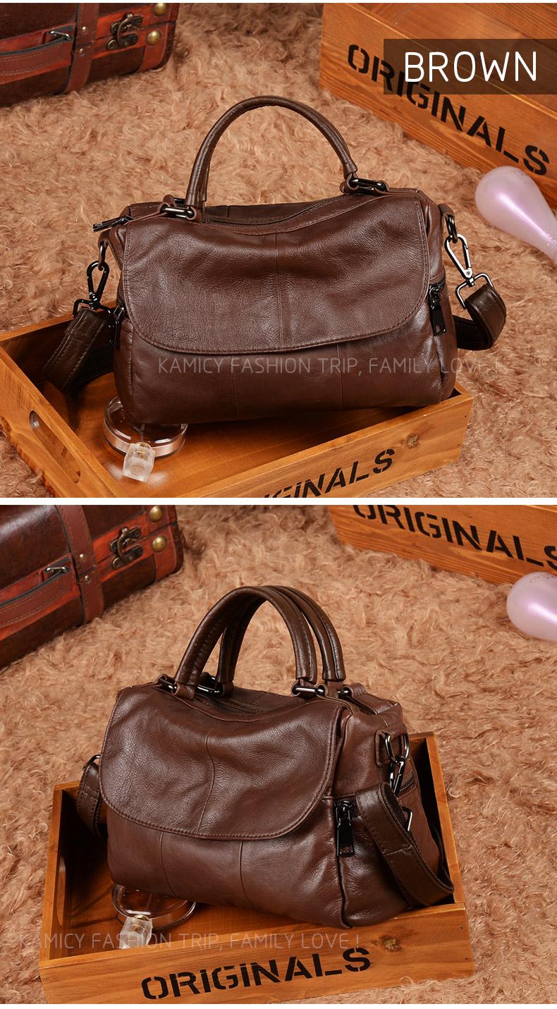 f56565dd397c Lady handbag 2018 new handbags leather handbag fashion large-capacity single  shoulder bag stitching inclined shoulder bag. US   55.50  piece