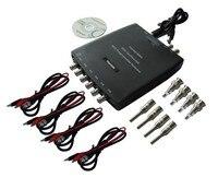 PC USB Automotive Diagnostic Car Test Oscilloscope Signal Generator 8CH 2 4MSa S Hantek1008A Hantek 1008A