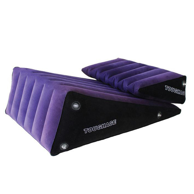 TOUGHAGE Blue Inflatable Sex Chair Sofa Bed,Sex Cushion,Sex Pillow,Adult Sex furniture For Couples,Erotic Products