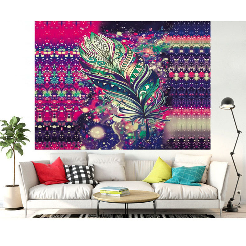 wall hanging tapestry mandala tapestry bohemian beach towel boho hippie blanket living room