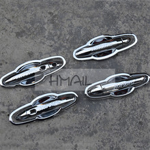ABS chrome door handle door bowl trim for HAVAL H6 COUPE 2015 16 Ca-styling plating plating protective decorat cover stickers спойлер ca abs