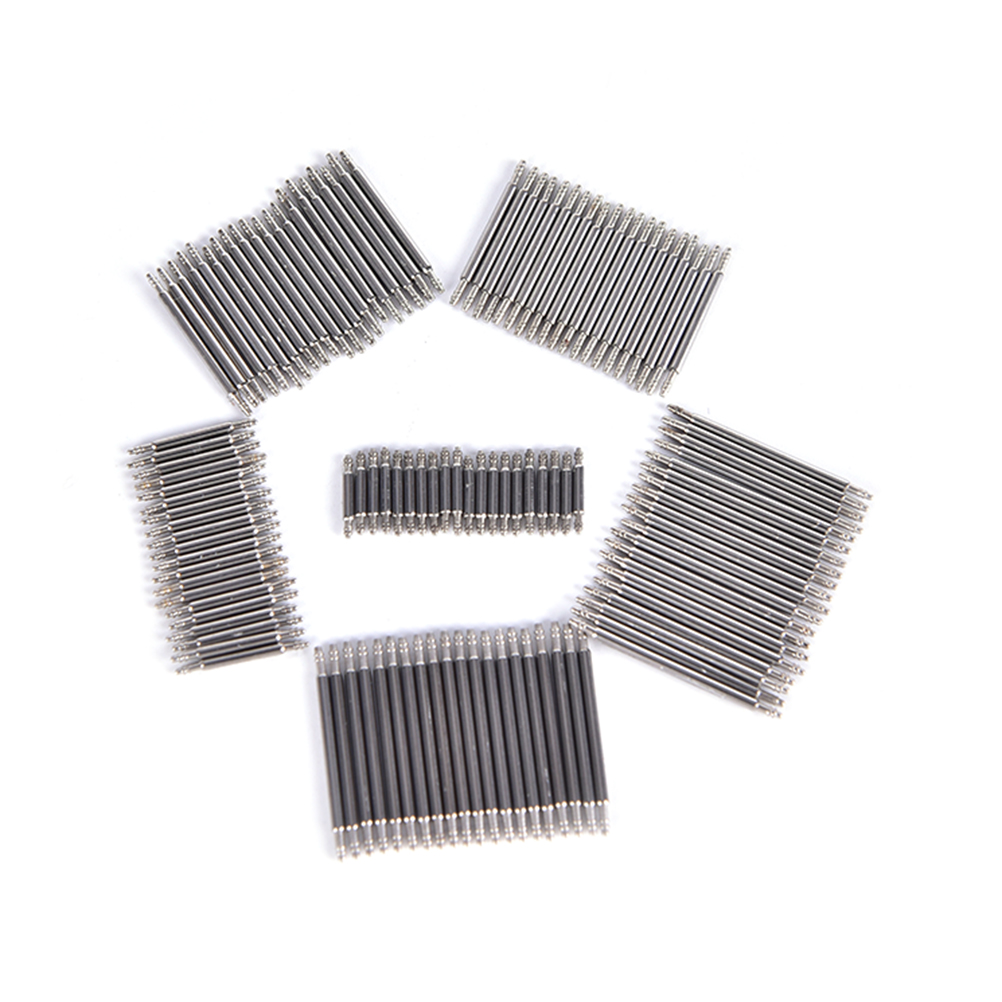 6 pcs Stainless Steel Spring Bars with Spring Bar Removing Tool Sizes 8mm to 38mm