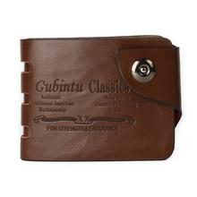 Fashion Sale designer men wallets 6 Patterns Classic hasp casual brown credit card holders purse wallet for men
