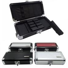 Professional Portable aluminum Darts Box Dart Carry Case Holder Storage for Soft Darts and Hard Darts цена