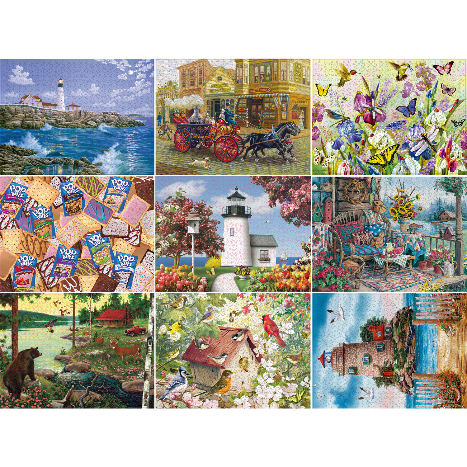 300 550 1000 Pieces Puzzle Kids Jigsaw Puzzles Noctilucent Educational Toys For Children Adult Puzzles