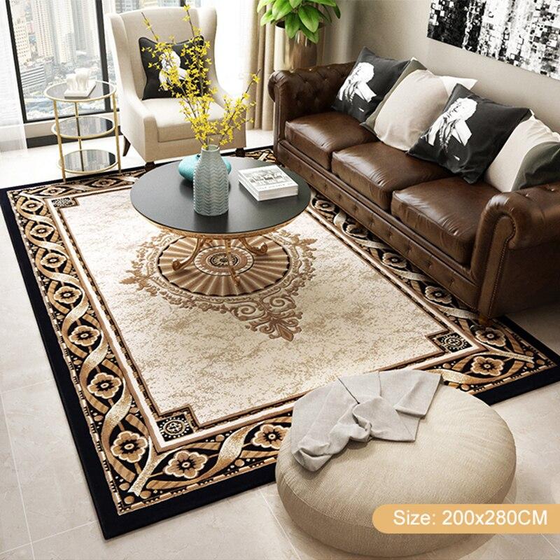 Tapis de luxe doux nordique pour salon chambre chevet tapis maison tapis zone délicate tapis d'étude tapis de sol Design moderne - 3