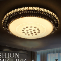 Modern Fashion Acryl K9 Crystal Led Ceiling Light Dia 50 60 80cm With Remote Controller Adjustable