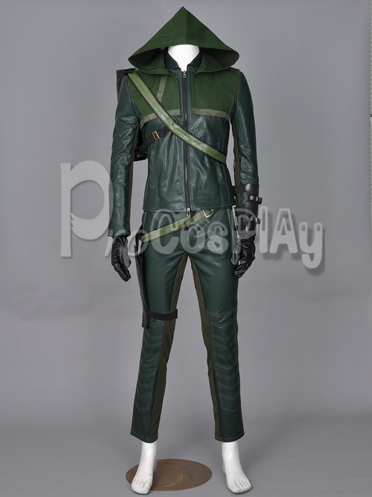 Καλύτερη Τιμή ~ Green Arrow Oliver Queen Costume Cosplay - Καρναβάλι κοστούμια