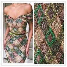 สวย JIANXI.C 12301 ภาษาฝรั่งเศสคำสุทธิลูกไม้ผ้า sequins ล่าสุดแอฟริกัน guipure ลูกไม้ผ้าเย็บปักถักร้อย