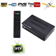 Vmade Full HD 1080P DVB-S2 Satellite Receiver TV Box DVB S2 Tuner receptor MPEG4 Support cccam IPTV IKS BISS Youtube Set top box