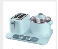 케이크 토스터 죽 밥솥 아침 식사 기계 Nosmok 스틱 로스트 샤브-전기 바베큐 그릴 6 기어 토스터로
