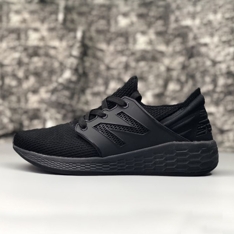 NEW BALANCE KNIT Men Shoes Outdoor Lightweight Comfortable Black White Grey Shoes Hot Sale 39-44 6 Coloers mennon gc 4in1 photography reference grey card set for manual white balance adjustment