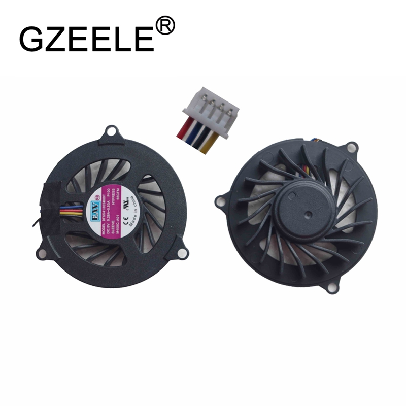GZEELE new Laptop cpu cooling fan for DELL Studio 1535 1536 1537 1555 1556 Notebook Cooler Radiator Computer Replacement Cooler