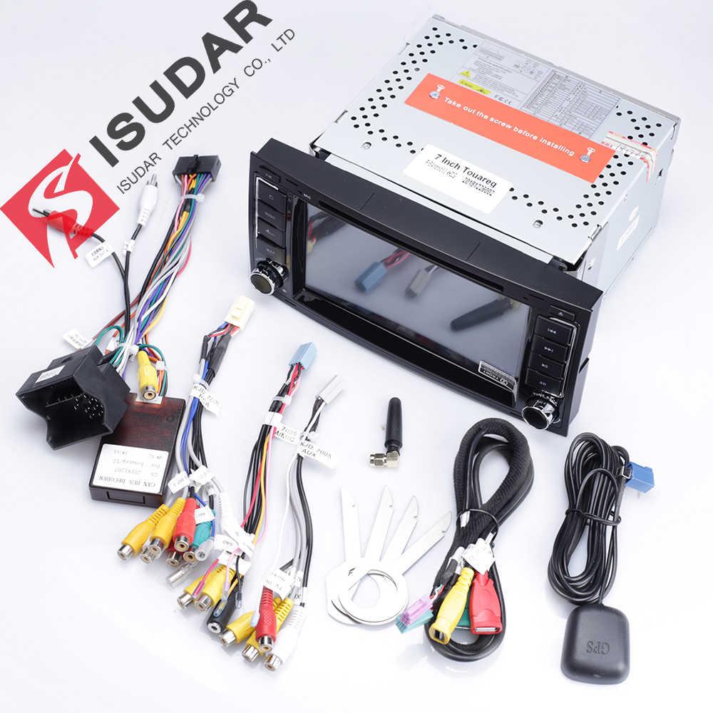 Isudar 2 DIN Tự Động Phát Thanh Android 9 Cho VW/Volkswagen/Touareg Xi Nhan CANBUS Đa Phương Tiện Video DVD GPS điều Hướng Hình USB DVR FM/AM