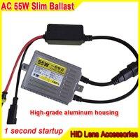 AC 12V 55W Slim Fast Startup Ballast Car H1 H3 H4 H7 Hid Xenon Ballast Accessories