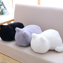 2018 New Kawaii Cat Soft Plush Toys Staffed Cute Shadow Cat Dolls Kids Gift Animal Toy Home Decoration Pillows