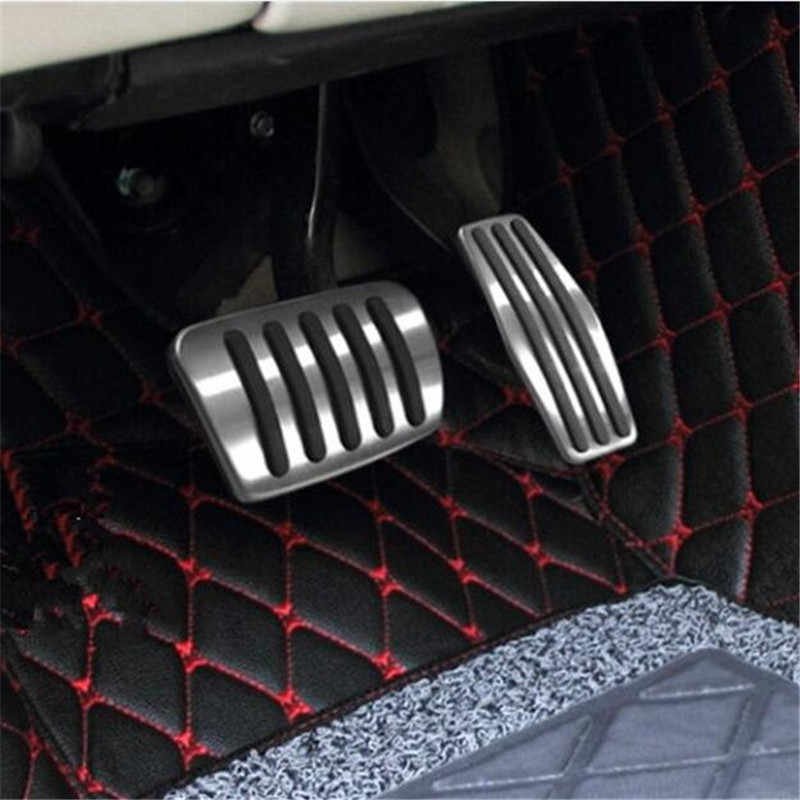 Accesorios de coche de acero inoxidable Acelerador de Gas Freno de Pedal funda para Opel Mokka ASTRA J H GTC Insignia Vauxhall Insigni