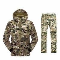 סיטונאי TAD V 4.0 גברים חיצוני ציד קמפינג Jacket מעיל עמיד למים צבא מכנסיים S M L XL XXL XXXL