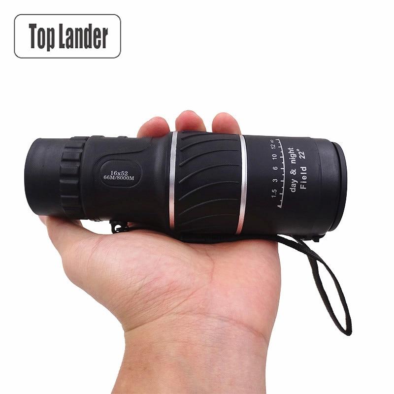 Monocular Telescope Cellphone 16x52 Binoculars Travel Monocular Telescope Day Vision HD Outdoor Monocular Hunting Spotting Scope
