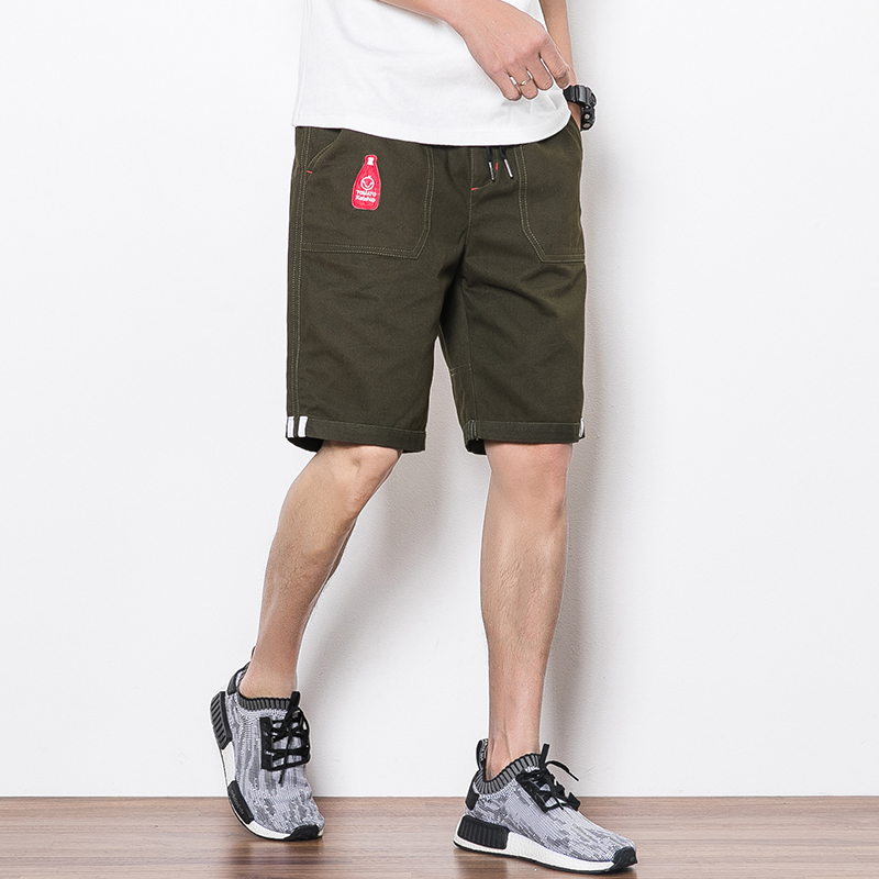 YWSRLM Casual Shorts Men Slim Fit 2018 Summer Fashion Cotton Breathable Male Brand Clothing Shorts Homme Bermuda Trousers 5XL ...