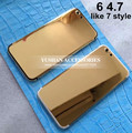 New 24K Gold Housing for Iphone 6 24k Gold Housing 7 style Mid Frame Housing for Iphone 6 Plus 24K gold 7 style Free DHL