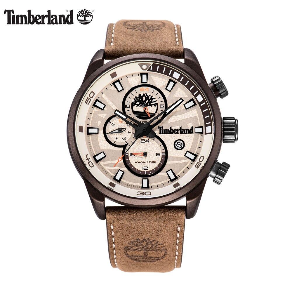 Timberland Original Men's Watches Top Brand Luxury Multi-function Casual Quartz Calendar Waterproof Week Display Watches T14816