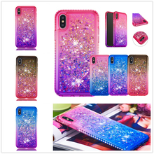 Change Quicksand Fundas for IPhone XS MAX X XR Back Coque Start Bling Jewelled Cover 7 8 6S 6 Plus Luxuly Cute Phone Case