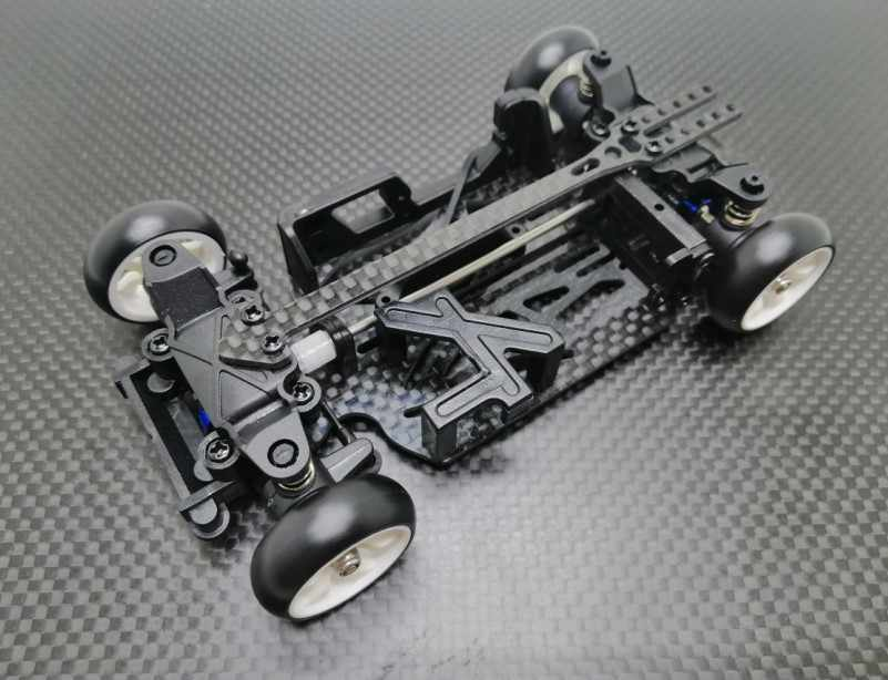 Nuevo deriva DRZ MINI-Q9 RC1/28 MINI-Z MINI-D coche de carreras Kit de Marco