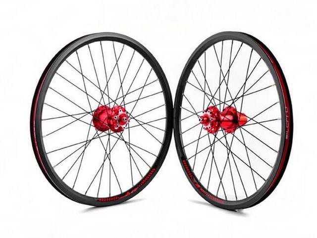 Litepro K fun 20inch Folding Bike Disc Brake Wheelset 20 inch Bicycle BMX  Wheels Parts