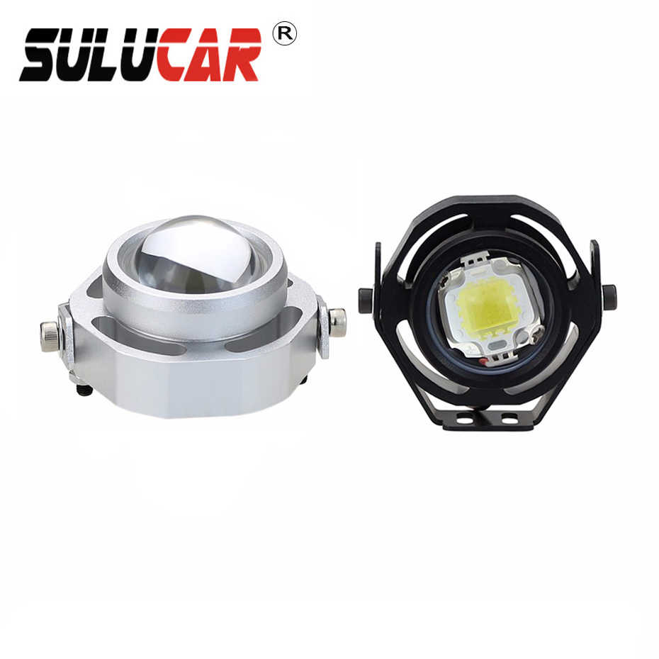 SULUCAR 2pcs Car Worklight  Road Fog Lamp Head Lamp Truck Motorcycle 12V  Tractor Car LED Headlight Work Lights waterproof