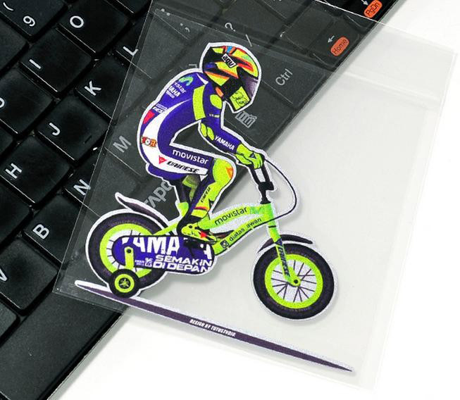 Front Windshield sticker Rossi ride on bicycle motorcycle racing decals  motor sport VR 46 rossi stickers biker decals ATV SBK-in Car Stickers from  ...