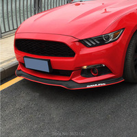 2.5m Car Front Bumper Lip Protector Car Rubber Strip Car Styling Accessories Stickers For DAIHATSU terios sirion yrv charade