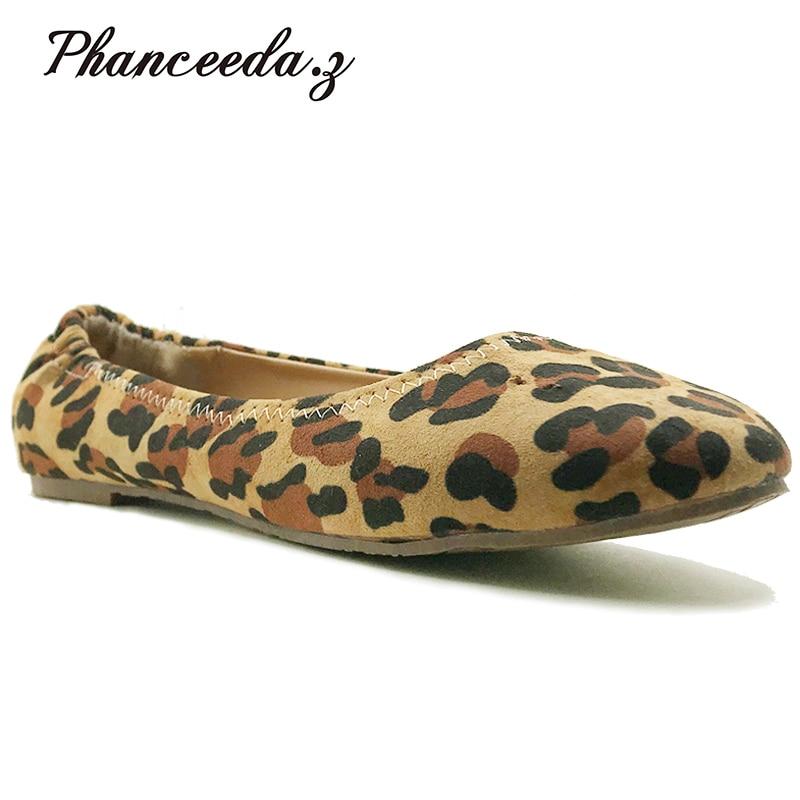Nuevos zapatos de primavera 2018 para mujer, zapatos planos de alta calidad, mocasines de estilo europeo, zapatos informales de punta redonda, tallas grandes 7-10