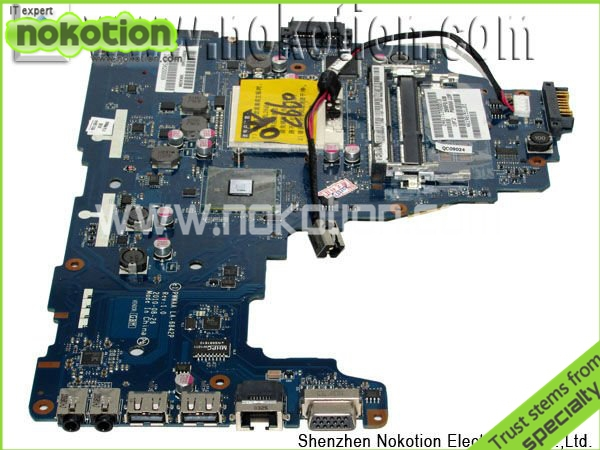 LA-6842P Motherboard for Toshiba C660-1F1 K000111440 DDR3 Integrated tested