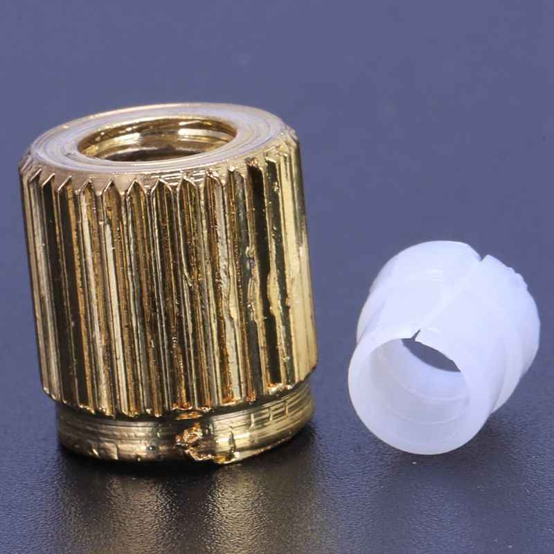 2Pcs טרמולו זרוע Whammy בר הברגה תותב שרוול ופלסטיק טבעת הידוק תותב מכונת כביסה לגיטרה חשמלית