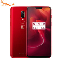 Original OnePlus 6 8GB 128GB Snapdragon 845 Octa Core AI Dual Camera 20MP+16MP Face Unlock Android 8 Smartphone Mobile phone