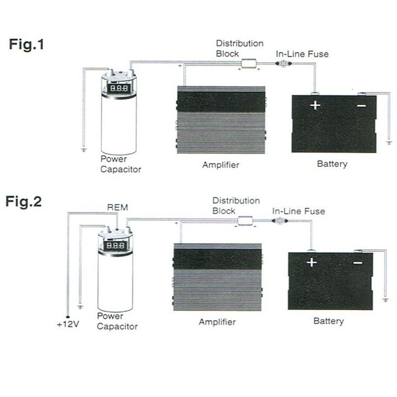 Car Auto 3.0 Farah Capacitor