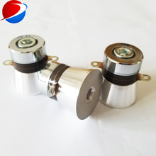 38KHz/80KHz 50W PZT4 Dual frequency ultrasonic transducer ,
