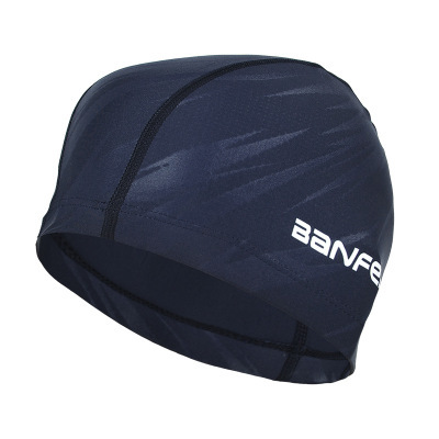 Фото водонепроницаемая тканевая шапка для плавания с защитой ушей