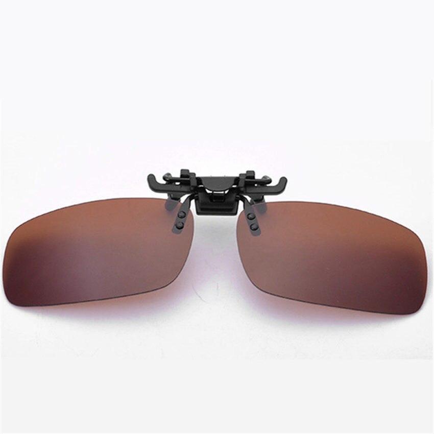4e38ce919e Dropwow Men Women Retro Flip Up Polarized Sunglasses Clip On Myopia ...
