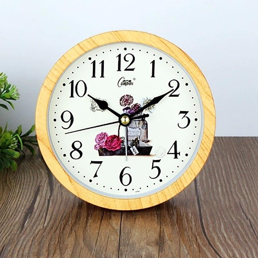 Creative Kids Alarm Clock Digital Table Simple Bedside Talking Wake Up Light Desktop Clock Mechanism Wekker Night Watch 40N0126