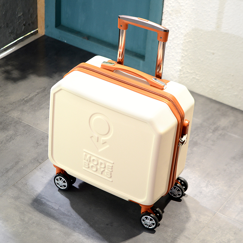 Male and Female Lightweight ABS Portable Consignment Suitcase Trolley Case Lock 4 Wheels CLOUD Luggage Sets Travel Suitcase Color : Rose Gold, Size : 24 inches