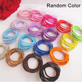 Multicolor New Elastic Hair Bands Tie Rope For Girl Ring Rope Baby Hairband Girls Hair Accessories Lovely Headwear 10pcs/set 42