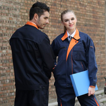 FREE SHIPPING Set of Jacket+Pants car beauty uniform auto repair uniform oil worker uniform gas uniform men out of uniform