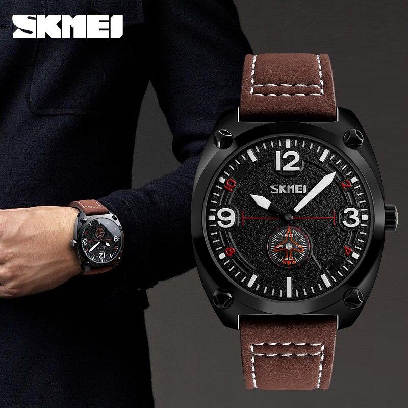 Skmei Mens Watches Top Brand Luxury Sports Watches Men Waterproof Quartz Watch Clock Man relogio masculino