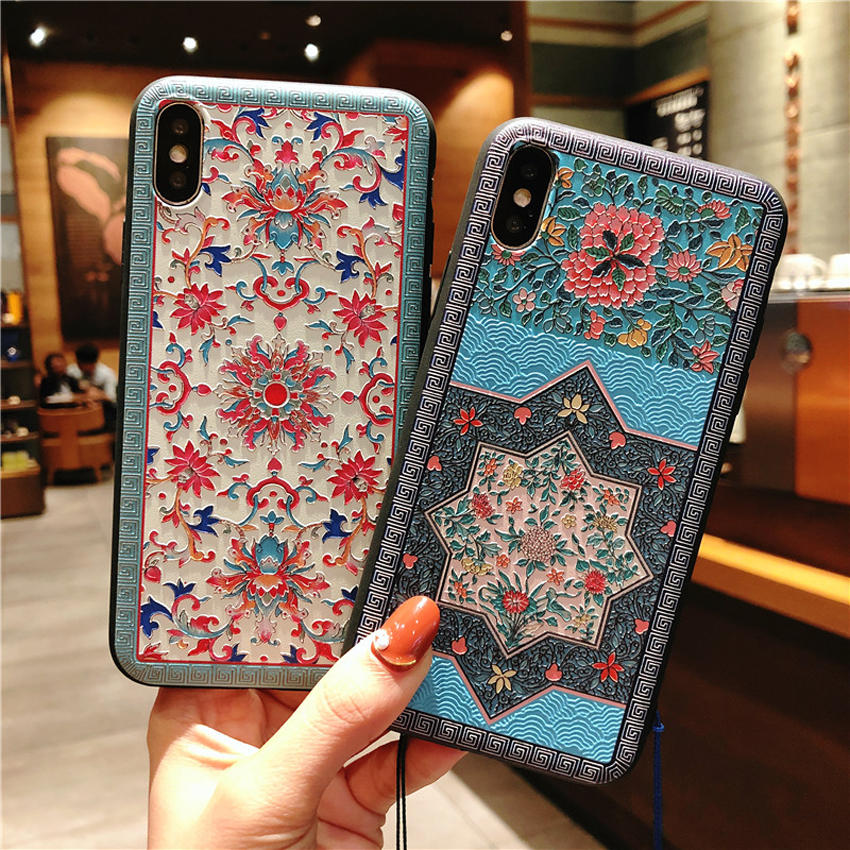China 3D Colorful TPU Cell Phone Case