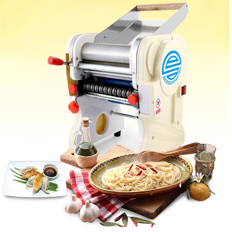 110V/220V Automatic Electric Noodle Maker Stainless Steel Dumpling Skin Maker Wonton Maker Machine ce certificate automatic gyoza maker steamed dumpling make automatic stainless steel dough making machine chinese dumpling maker